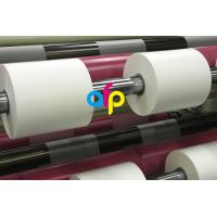 Quality 42 Dynes Double Corona Treatment Thermal Roll Matte Laminating Film for Hot Stamping and Spot UV for sale