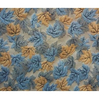 Quality Residential Fabric Jacquard Yarn-dyed Leaves H/R 25.0cm 420T/100% P/150gsm for sale