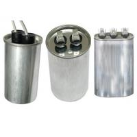 Quality CBB65 Run Capacitor Round Metal Case oil filled for Air Conditioner and Refrigeration for sale