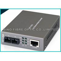 Quality SNMP Managed Fiber Optic Fast Ethernet Media Converter RJ45 to SC Web - Based for sale