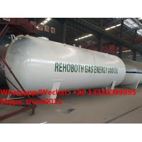 Quality 2018s best price 45m3 surface propane gas storage tanks, bulk lpg gas storage tank customized for Lagos, Nigeria for sale