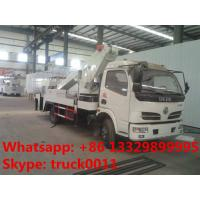 Quality Dongfeng 12m-20m telescopic boom high altitude operation truck, best price hot sale telescopic overhead working truck for sale