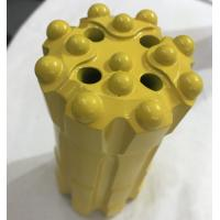 Quality T38 89mm Atlas Mining Threaded Button Bit For Hard Rock Yellow Color for sale