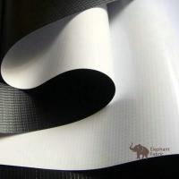 Quality Soft White / Black 0.40mm Woven Polypropylene Roll Layer Matte Surface for sale