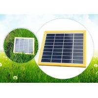 Quality 5 Watt Domestic Solar Panels / Folding Solar Panels Charging For Solar Tracking Device for sale