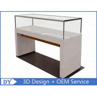 Quality 1200X550X950MM Wooden Glass Jewelry Counter Display Cases for sale