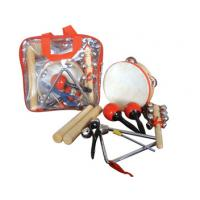 Quality Portable Kids Musical Instrument With Plastic Bag , 6 Pcs Wood Percussion Set for sale
