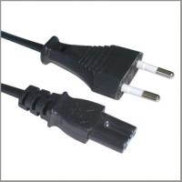 Quality VDE European Power supply Cord with IEC320 C7, Power Adapter Cable AC Input Cord for sale