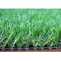 Quality U Shape 25mm Artificial Grass Landscaping Fire Resistant For Homes Garden Backyard for sale