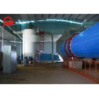 Quality 9.7 * 1.7 * 2.7m Wood Chip Dryer , Rotary Vacuum Dryer 12 Months Warranty for sale