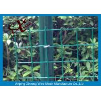 Quality Eco Friendly Euro Panel Fencing Convenient Installation 4x4 5x5 6x6mm for sale