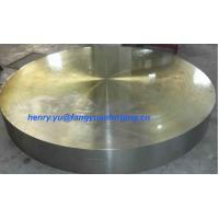 Quality Tube Sheet Double Stainless Steel Forged Disc 1.4462, F51, S31803; F60, S32205; F53, S32750 for sale