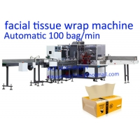 China PLC Control 100 Bag / Min CE Tissue Paper Packing Machine on sale