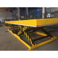 China safety Stationary Electric Hydraulic Scissor Lift Table Large Work Platform on sale