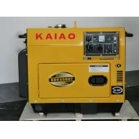 Quality Portable 3KW Silent Diesel Generator With AVR Self-Excited Constant Voltage for sale
