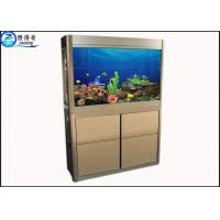 Buy Wall Mounted Custom Fish Tanks Upscale Atmosphere For Office Decoration at wholesale prices