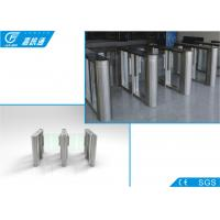 Quality Pedestrian Entrance Swing Barrier Security Remote Control For Supermarket for sale