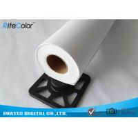 Quality 360 gsm Eco Solvent Glossy Digital Printable Canvas Roll For Eco Solvent Inks for sale