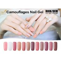 Quality Easy On / Off Safe Artistic Nail Gel Soak Off Uv Gel Polish Extensions Good Tenacity for sale