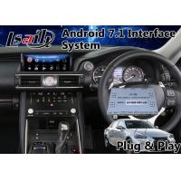 Buy cheap Android Interface GPS Navigation Box for 2017-2018 Lexus Is 350 Mouse Control 12 from wholesalers