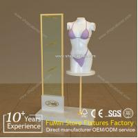 Quality stainless steel garment display rack for sale