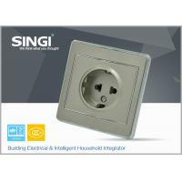 Quality CE certificated modern Wall Switch Socket , safety electrical sockets for sale
