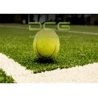 Quality ITF Standard Realistic Artificial Grass / Synthetic Grass Tennis High Density for sale