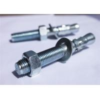 Quality High Strength M6 Wedge Bolt Anchors , Galvanized Wedge Anchors For Concrete for sale