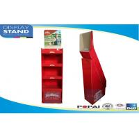 Buy cheap Red Free Standing Pop Display Stands For Instant Noodles POP / POS Display Rack from wholesalers