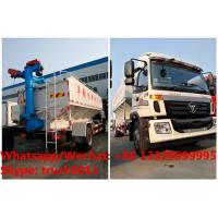 Quality factory sale good price customized FOTON 190hp 8tons-12tons farm-oriented and livestock poultry feed delivery truck for sale