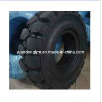 Quality Pneumatic Shaped Solid Tyre, Forklift Tyre (4.00-8, 15*41/2-8, 16*6-8, 18*7-8) for sale