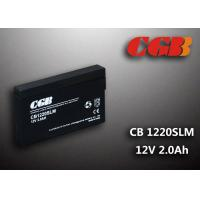 Quality 12V 1.8Ah CB1220SLM  Non - Spillable charging lead acid batteries Maintenance Free for sale