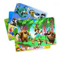 Buy cheap 48 Pieces Kids Printable Paper Toys Printable Cardboard Toy Game Paper Puzzle from wholesalers