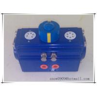 China epoxy coated rack and pinion pneumatic rotary valve actuator cylinder on sale