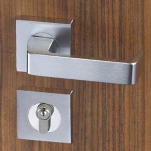 Quality Easy Installation Mortise Door Lock Zinc Alloy Handle For 38 - 55mm Door for sale