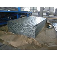Quality 0.15-1.5mm Thickness Galvanized Corrugated Roofing Sheet , ASTM A653 for sale