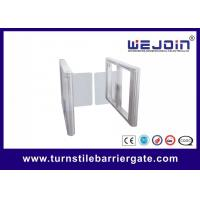China Fashion Entrance Swing Barrier Gate Customized Barcode Reader / Scanner on sale