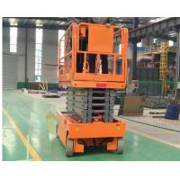 China Narrow 8m Hydraulic Aerial Work Platform Vertical Customized Table Size on sale