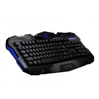 Quality Customized Ergonomic Membrane Gaming Keyboard , gaming pc keyboards With CE  FCC ROHS for sale