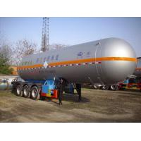 Quality Ambitious 11.4 m 24.7 tons of liquefied gas transport trailer 3 axle HT9407GYQ2A for sale