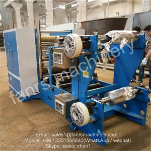Buy Aluminum Foil Drag Paper Folding Machine for Food Pop up Foil Sheet Folding at wholesale prices