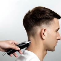 Quality Low Noise Hair Cutting Machine , Cordless Hair Trimmer T - Shaped Cutter Head for sale
