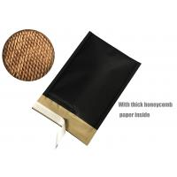 China Honeycomb Paper Padded Mailers Black Self Seal Padded Mailing Envelopes on sale