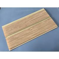 Quality 250 × 7 MM × 5.95M PVC Wood Panels Middle Groove Shape Easy Installation for sale