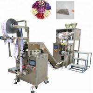 China Touch Screen Tea Sachet Packing Machine , Heated Sealing Tea Bag Sealing Machine on sale