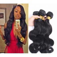 Quality Long Virgin Unprocessed Hair Extensions Cambodian Deep Body Wave for sale