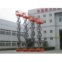 Quality Handling Equipment Electric Scissor Lift Table / Outdoor Self Propelled Scissor Lift for sale