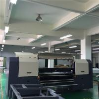 Reactive Textile Digital Printing Machines For Cotton Fabric / Cloth 1800mm