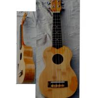 Quality replacement string Bamboo Wood Hawaii Guitar Ukulele with Nato neck AGUL18 for sale