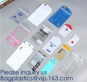 Quality Self Sealing PVC Plastic Zip Lock Bag Thick Clear Ziplock Earrings Jewelry Bag Packaging Storage Bags bagease bagplastic for sale